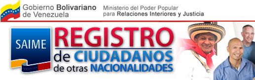Clic aqui para registrarte en el Censo de Extranjeros